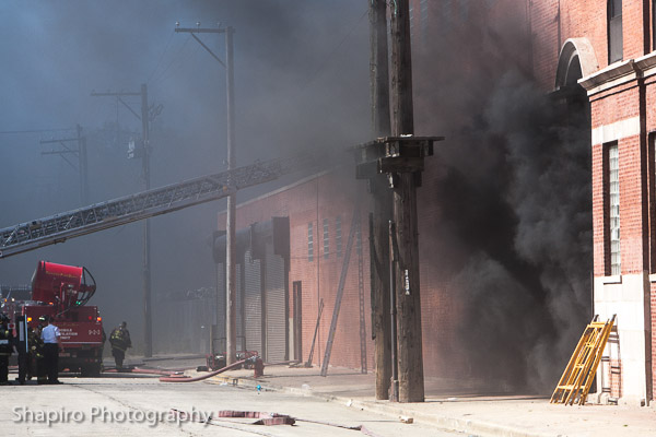 Chicago Fire Department 2-11 Alarm fire 9-25-13 at 1034 S. Kostner Larry Shapiro photography