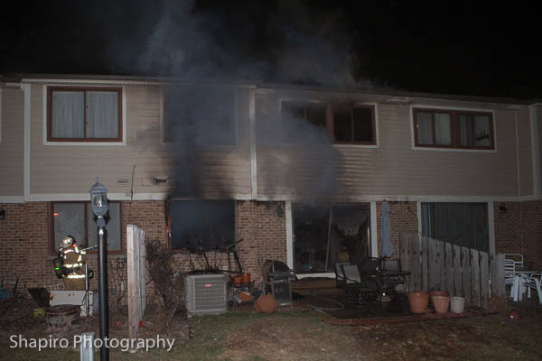 Lincolnshire Riverwoods FPD townhouse fire at 884 Swan in Deerfield