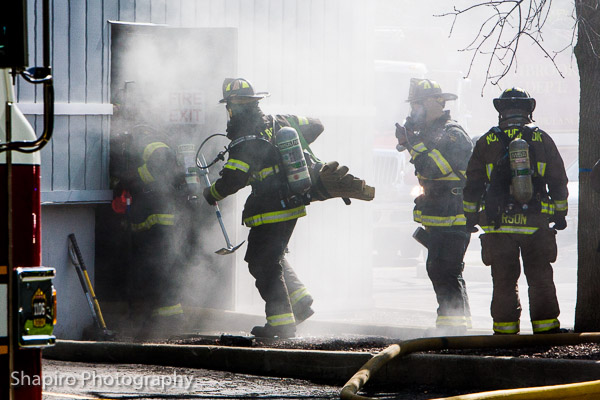 warehouse fire in Northbrook at 725 Landwehr Road Larry Shapiro photography fire scene photos 10-10-13