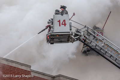 Chicago Fire Department 2-11 Alarm fire at 3234 N Central Avenue 1-13-16 Larry Shapiro photographer shapirophotography.net