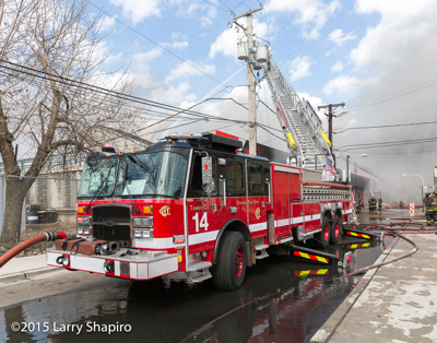 Chicago FD 4-11 Alarm fire at 4540 W Haddon 3-8-16 Larry Shapiro photographer shapirophotography.net fire scene