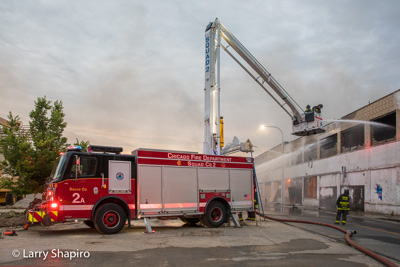 Chicago Fire Department 3-11 Alarm fire at