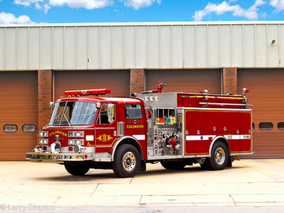 Cldwater MI Fire Department Ametican LaFrance