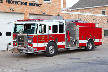 Grayslake Fire Department Seagrave Maurauder II engine