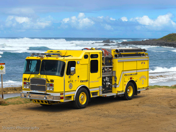 Maui County Fire Department Engine 2 E-ONE Cyclone