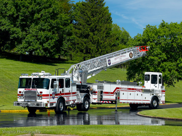 Monroeville Fire District 5 EONE HP100 TDA Truck 5
