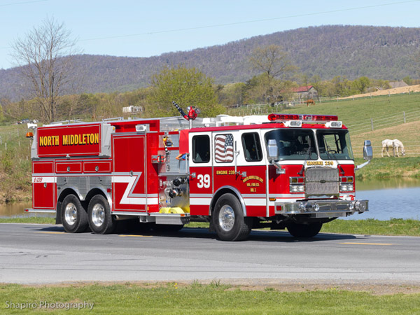 North Middleton VFC #1, Carlisle, PA EONE pumper tanker