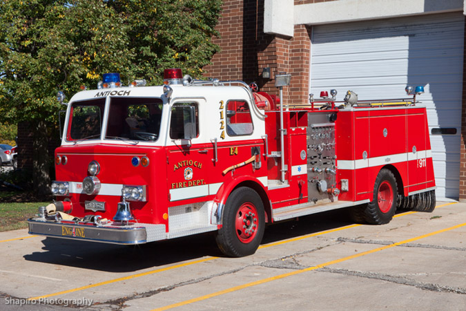 Antioch Fire Department 1974 Pirsch pumper