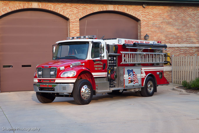 Barrington Fire Deparment tanker 362