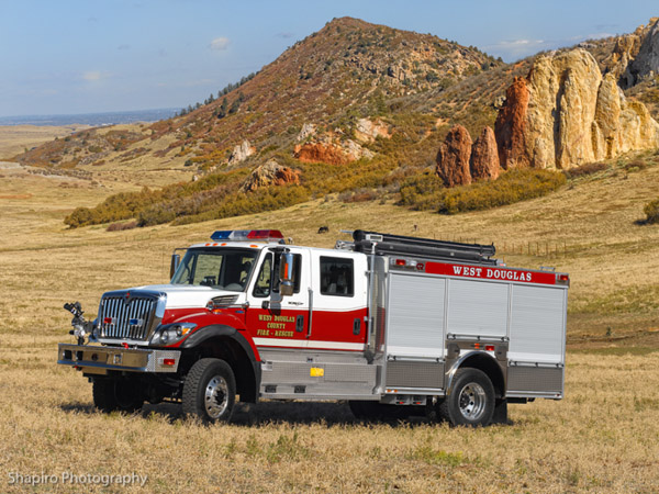 Rosenbauer Timberwolf West Douglas County Fire