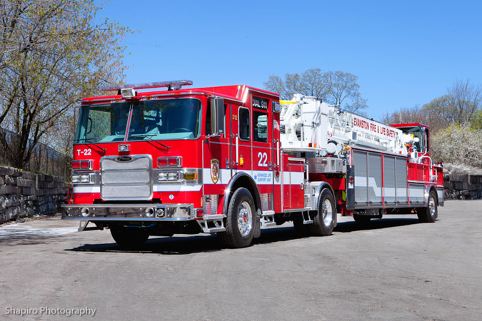 Evanston Fire Department 2011 Pierce Arrow XT TD