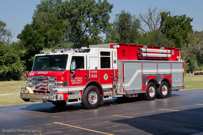 Winfield FPD Pierce Velocity PUC Tender