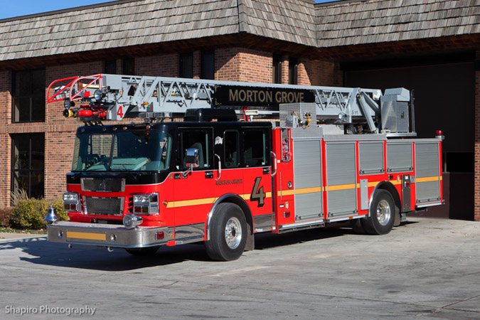 Morton Grove Niles Northbrook fire trucks