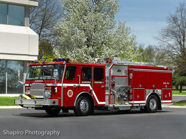Aurora Fire Department Engine 1 Larry Shapiro