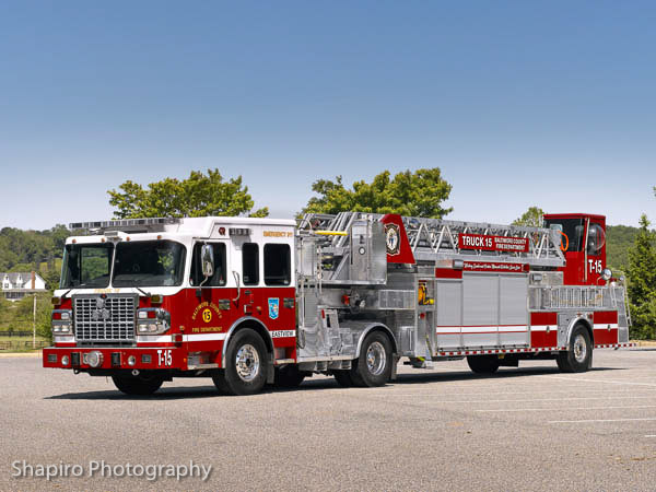 Baltimore County Fire Department Truck 15 Rosenbauer America TDA Providence VFC Truck 29