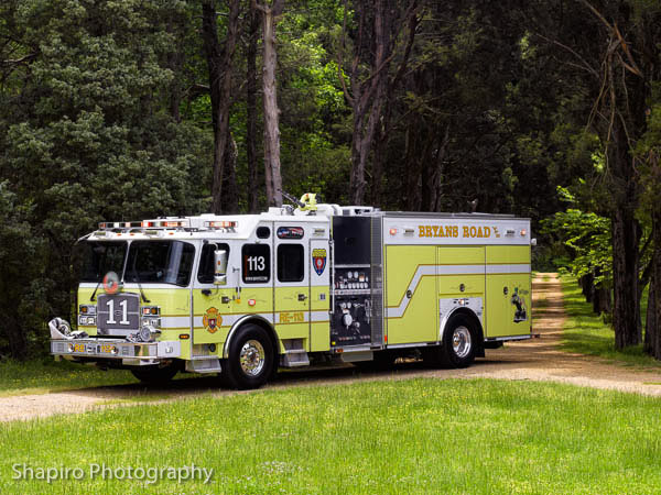 Bryans Road Volunteer Fire Company fire trucks Larry Shapiro photography