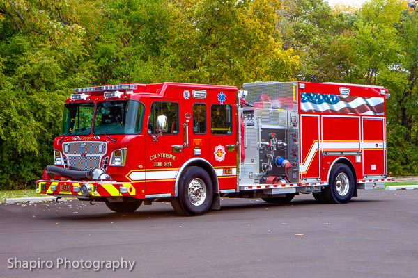 Countryside FPD fire truck photos fire apparatus Larry Shapiro photography shapirophotography.net