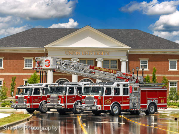 Hendersonville TN Fire Department E-ONE fire truck photos shapirophotography.net
