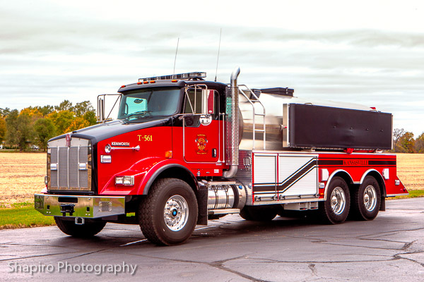 Kansasville WI Fire Department apparatus fire trucks Larry Shapiro photography shapirophotography.net