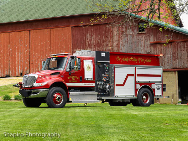 Union Lakeville Fire Territory Indiana Rosenbauer America Maverick fire engine shapirophotography.net
