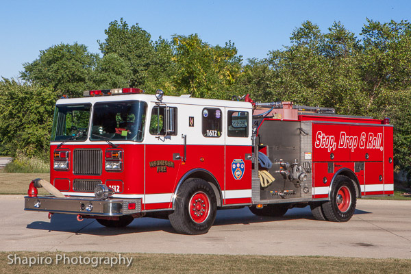 Waukegan Fire Department fire trucks and apparatus and fire stations Larry SHapiro photographer shapirophotography.net