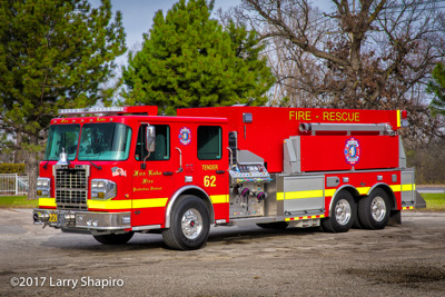 Fox Lake Fire Protection District fire trucks Spartan chassis Alexis Fire Apparatus pumper tanker fire engine fire trucks shapirophotography.net Larry Shapiro photographer