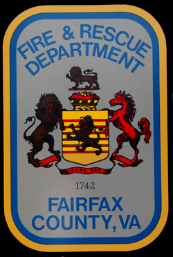 FAIRFAX COUNTY FIRE AND RESCUE DEPARTMENT PATCHES