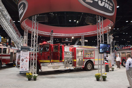 E-ONE fire truck giveaway