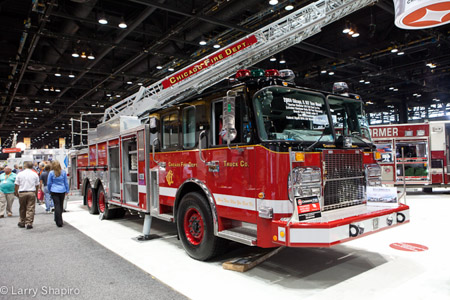 Crimson Chicago aerial ladder