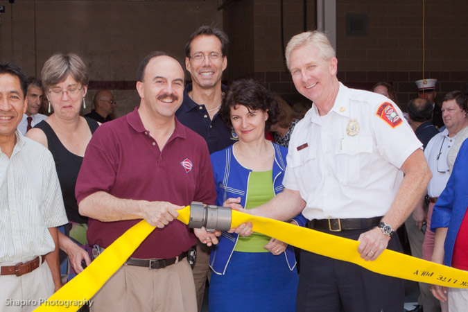 dedication of Arlington County Fire Department Station 3