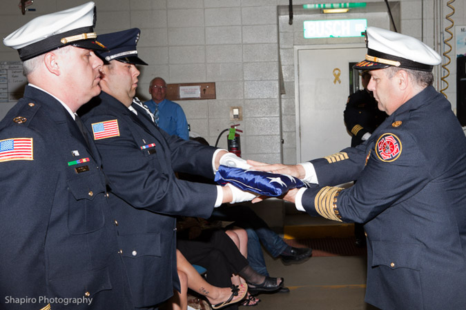 Buffalo Grove Fire Department retirement ceremony