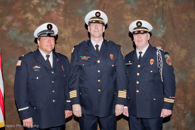 Buffalo Grove Fire Department officer promotions