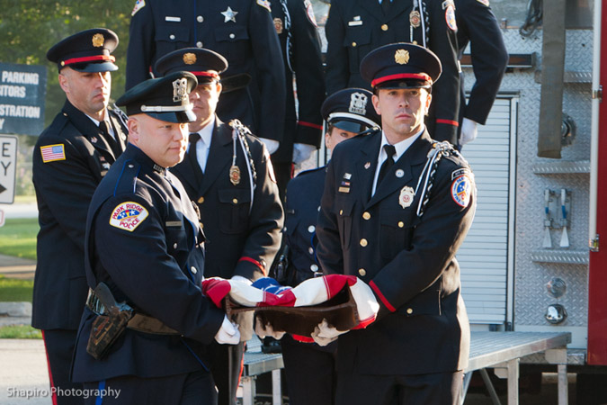 Park Ridge IL Fire and Police Department 9/11 Remembrance Ceremony